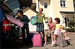 Family packing car Stock Photo - Premium Rights-Managed, Artist: F1Online, Code: 853-02913656