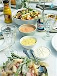 Salads for garden party Stock Photo - Premium Rights-Managed, Artist: F1Online, Code: 853-02913947