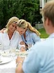 Adults having garden party Stock Photo - Premium Rights-Managed, Artist: F1Online, Code: 853-02913989