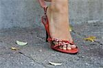 Woman with strappy sandals, lower section Stock Photo - Premium Rights-Managed, Artist: F1Online, Code: 853-02914108