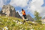 person jogging, Trentino Alto Adige italy Stock Photo - Premium Rights-Managed, Artist: F1Online, Code: 853-02914113