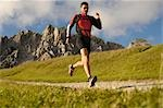 person jogging, Trentino Alto Adige italy Stock Photo - Premium Rights-Managed, Artist: F1Online, Code: 853-02914116