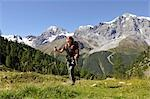 person hiking, Trentino Alto Adige italy Stock Photo - Premium Rights-Managed, Artist: F1Online, Code: 853-02914119