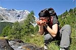 person hiking, Trentino Alto Adige italy Stock Photo - Premium Rights-Managed, Artist: F1Online, Code: 853-02914122