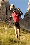 person jogging, Trentino Alto Adige italy Stock Photo - Premium Rights-Managed, Artist: F1Online, Code: 853-02914125