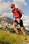 person jogging, Trentino Alto Adige italy Stock Photo - Premium Rights-Managed, Artist: F1Online, Code: 853-02914126