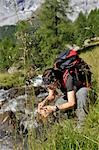 person hiking, Trentino Alto Adige italy Stock Photo - Premium Rights-Managed, Artist: F1Online, Code: 853-02914128