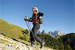 person hiking, Trentino Alto Adige italy Stock Photo - Premium Rights-Managed, Artist: F1Online, Code: 853-02914155