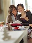 Mother and daughter smiling at camera Stock Photo - Premium Rights-Managed, Artist: F1Online, Code: 853-02914344