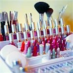 row of different lipsticks, close-up Stock Photo - Premium Rights-Managed, Artist: F1Online, Code: 853-02914612