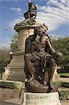 Statue of Hamlet with William Shakespeare behind, Stratford upon Avon, Warwickshire, England, United Kingdom, Europe Stock Photo - Premium Rights-Managed, Artist: Robert Harding Images, Code: 841-02915389