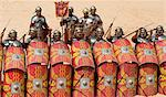Roman legion, Jerash, Jordan, Middle East Stock Photo - Premium Rights-Managed, Artist: Robert Harding Images, Code: 841-02916247