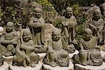 Selection from an army of 500 similar small Buddhas at Daishoin temple, Miyajima, Japan, Asia Stock Photo - Premium Rights-Managed, Artist: Robert Harding Images, Code: 841-02916342