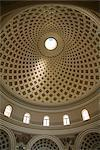 Interior of the Dome, Mosta, Malta, Europe