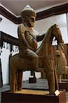 Famous Nuristan wooden statue of king on horse, Kabul Museum, Kabul, Afghanistan, Asia Stock Photo - Premium Rights-Managed, Artist: Robert Harding Images, Code: 841-02917085