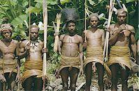 Yali men at a ceremony, Membegan, Irian Jaya (West Irian) (Irian Barat), New Guinea, Indonesia, Asia Stock Photo - Premium Rights-Managednull, Code: 841-02917580