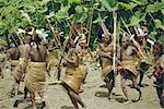 Yali people dancing at a ceremony, Membegan, Irian Jaya (West Irian) (Irian Barat), New Guinea, Indonesia, Asia