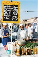 food stalls - Food stalls, Djemaa el Fna, Marrakesh, Morocco, North Africa, Africa Stock Photo - Premium Rights-Managednull, Code: 841-02917932