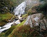 Waterfall near Uig, Isle of Lewis, Outer Hebrides, Scotland, United Kingdom, Europe Stock Photo - Premium Rights-Managed, Artist: Robert Harding Images, Code: 841-02918064