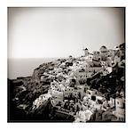 Polaroid of view of the village of Oia, Santorini, Cyclades, Greek Islands, Greece, Europe Stock Photo - Premium Rights-Managed, Artist: Robert Harding Images, Code: 841-02918109