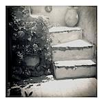 Polaroid of whitewashed stone steps, Oia, Santorini, Cyclades, Greek Islands, Greece, Europe Stock Photo - Premium Rights-Managed, Artist: Robert Harding Images, Code: 841-02918110