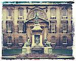 Polaroid Image Transfer of Founders Statue, King's College, Cambridge, Cambridgeshire, England, United Kingdom, Europe Stock Photo - Premium Rights-Managed, Artist: Robert Harding Images, Code: 841-02918121