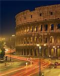 The Colosseum illuminated at night in Rome, Lazio, Italy, Europe Stock Photo - Premium Rights-Managed, Artist: Robert Harding Images, Code: 841-02918499