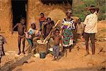 Kids pounding grain, Shiare village, eastern area, Ghana, West Africa, Africa Stock Photo - Premium Rights-Managed, Artist: Robert Harding Images, Code: 841-02918680