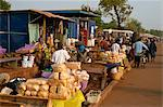 Market in Tamale, capital of the northern region, Ghana, West Africa, Africa Stock Photo - Premium Rights-Managed, Artist: Robert Harding Images, Code: 841-02918682