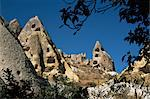 Rock formations in Pigeon Valley, Goreme, Cappadocia, Anatolia, Turkey, Asia Minor, Eurasia Stock Photo - Premium Rights-Managed, Artist: Robert Harding Images, Code: 841-02918741