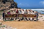 Japanese tourists behind sign at the Cape of Good Hope Nature Reserve, Cape Province, South Africa, Africa Stock Photo - Premium Rights-Managed, Artist: Robert Harding Images, Code: 841-02918875