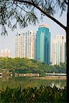 Litchi Park Lake, Shenzhen Special Economic Zone (SEZ), Guangdong, China, Asia Stock Photo - Premium Rights-Managed, Artist: Robert Harding Images, Code: 841-02919341