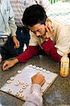 Chinese checkers, Mongkok, Kowloon, Hong Kong, China, Asia Stock Photo - Premium Rights-Managed, Artist: Robert Harding Images, Code: 841-02919356