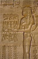 egyptian hieroglyphics - Temple of Hathor, Dendera, Egypt, North Africa Stock Photo - Premium Rights-Managednull, Code: 841-02920015