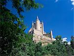 The Alcazar viewed from the west, Segovia, Castilla y Leon (Castile), Spain, Europe Stock Photo - Premium Rights-Managed, Artist: Robert Harding Images, Code: 841-02920361