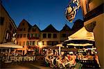 Dining at night in the Place de l'Ancienne Douane, Colmar, Haut-Rhin, Alsace, France, Europe Stock Photo - Premium Rights-Managed, Artist: Robert Harding Images, Code: 841-02920513