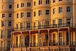 Seafront facade bathed in dusk light, Brighton, Sussex, England, United Kingdom, Europe Stock Photo - Premium Rights-Managed, Artist: Robert Harding Images, Code: 841-02920898