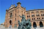 Plaza de Toros, Madrid, Spain, Europe Stock Photo - Premium Rights-Managed, Artist: Robert Harding Images, Code: 841-02921336