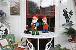 Garden Gnomes on Table                                                                                                                                                                                   Stock Photo - Premium Rights-Managed, Artist: Mark Peter Drolet        , Code: 700-02922847