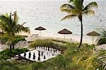 Oversized Chess Set on Beach, Turks and Caicos                                                                                                                                                           Stock Photo - Premium Rights-Managed, Artist: Arian Camilleri          , Code: 700-02922908