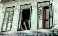 Old green house, Little India, Singapore, Southeast Asia, Asia Stock Photo - Premium Rights-Managednull, Code: 841-02924677