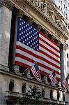 The New York Stock Exchange, Wall Street, Manhattan, New York City, New York, United States of America, North America