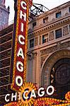 The Chicago Theatre, Theatre District, Chicago, Illinois, United States of America, North America Stock Photo - Premium Rights-Managed, Artist: robertharding, Code: 841-02925061