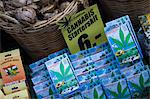 Cannabis seed packets for sale in the Bloemenmarkt (flower market), Amsterdam, Netherlands, Europe Stock Photo - Premium Rights-Managed, Artist: Robert Harding Images, Code: 841-02925210