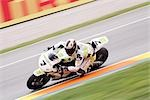 Motorcycle Racing, Circuit de Valencia, Valencia, Spain Stock Photo - Premium Rights-Managed, Artist: Mike Randolph            , Code: 700-02925989