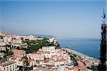 High angle view of a town, Vietri sul Mare, Costiera Amalfitana, Salerno, Campania, Italy Stock Photo - Premium Royalty-Free, Artist: Scott Gilchrist, Code: 625-02927660