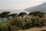 High angle view of a town, Vietri sul Mare, Costiera Amalfitana, Salerno, Campania, Italy Stock Photo - Premium Royalty-Free, Artist: Robert Harding Images, Code: 625-02927771