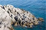 Rock formation at the seaside, Costiera Amalfitana, Salerno, Campania, Italy Stock Photo - Premium Royalty-Free, Artist: Robert Harding Images, Code: 625-02928140