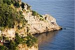 Rock formation at the seaside, Costiera Amalfitana, Salerno, Campania, Italy Stock Photo - Premium Royalty-Free, Artist: Jon Arnold Images, Code: 625-02928359