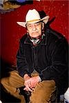 Portrait of a senior man, Zacatecas State, Mexico Stock Photo - Premium Royalty-Freenull, Code: 625-02933405